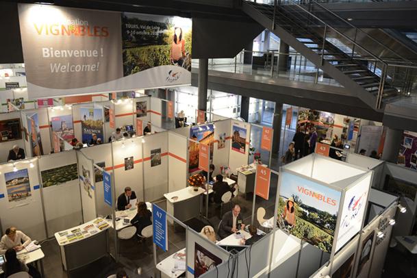 L'édition 2012 du salon Destination Vignobles s'est tenue à Tours. © Atout France/C. Helsly