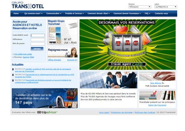 Espagne : le groupe Transhotel aurait déposé le bilan