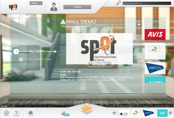 Pour sa deuxième édition, le nombre de visiteurs de SPOT a diminué - Capture d'écran