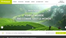 Le nouveau site web de Verdié Voyages, lancé en septembre dernier - DR