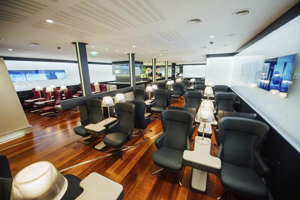 Le nouvel espace est accessible aux voyageurs Business Premier et aux détenteurs de la Carte Blanche Eurostar Frequent Traveller - DR : Eurostar