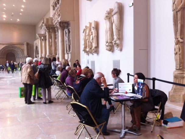 Le réseau Rn2D a organisé un workshop groupe à la cité de l'architecture et du patrimoine à Paris. DR-LAC