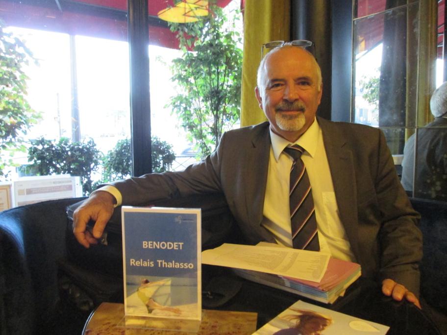 """Philippe Gomez, président du Syndicat National de la Thalassothérapie rencontré au work shop """"Thalasso Bretagne"""""""