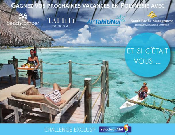 Beachcomber Tours fait gagner un séjour en Polynésie aux agents Selectour Afat