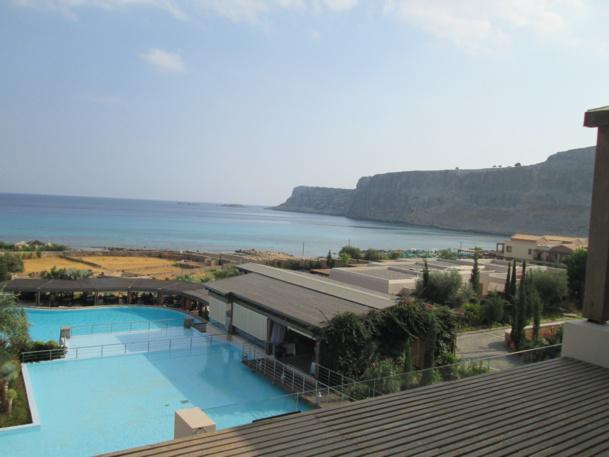 L'une des piscines de l'Aquagrand (5*) interdit aux moins de 16 ans - DR : M.S.
