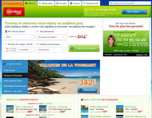 Ecotour.com placée en redressement judiciaire