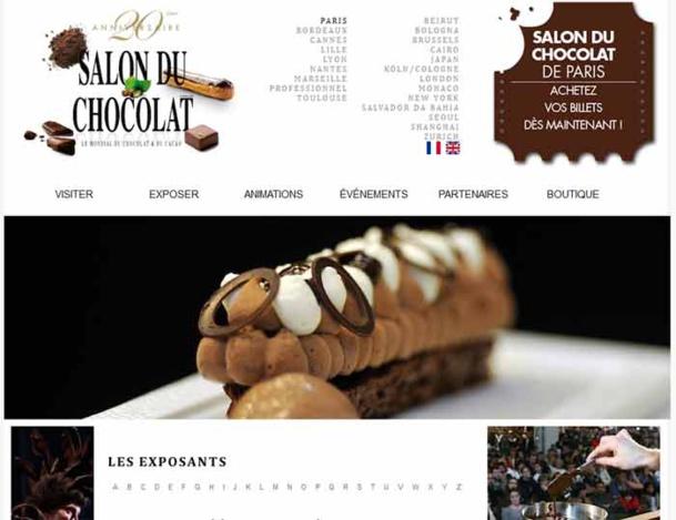 Le Salon du Chocolat se tiendra du 29 octobre au 2 novembre 2014 - DR