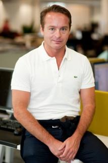 M. Fabrizio Giulio, directeur général d'Expedia.fr