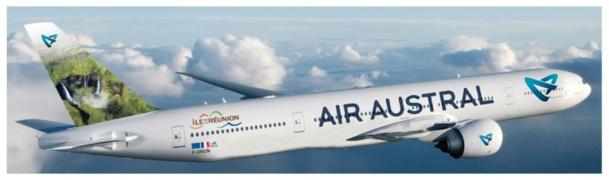 Air Austral partira de Marseille vers l'île de la Réunion pour 6 vols supplémentaires pendant la période de Noël 2014/2015 - Photo DR