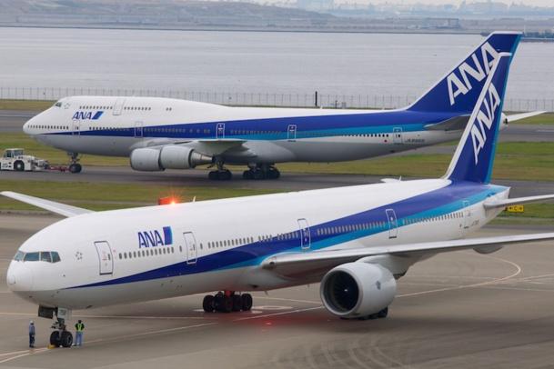 La compagnie ANA opère la ligne Paris-Tokyo avec un Boeing B 777-300 - DR