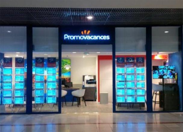 Une nouvelle agence Promovacances a ouvert ses portes dans le centre commercial Bordeaux Mériadeck, jeudi 16 octobre 2014 - DR : Promovacances