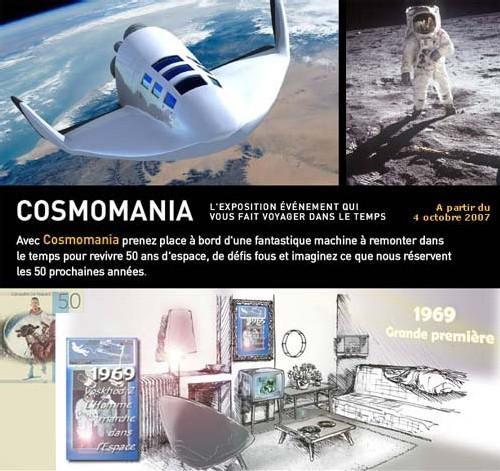 Cité de l'Espace : inauguration de Cosmomania le 4 octobre