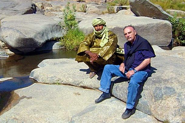 Un pionnier et un passionné du désert et de l'Afrique tire sa révérence. /photo V.M.