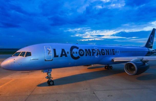 Certains passagers ont eu bien du mal à trouver le comptoir d'enregistrement d'une compagnie appelée La Compagnie…   Malgré tout, le directeur ne regrette pas ce choix, qui fait référence à la French Touch - DR