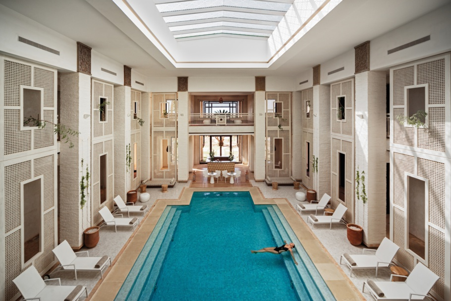 Ouvert depuis le 1er oct. 2014 : le Spa By Clarins d Royal Palm de Marrakech.