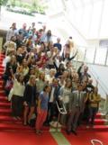 David Lisnard, le maire de Cannes, est venu saluer les blogueurs lors de ce premier salon.