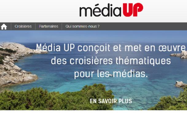 Lionel Rabiet a fondé Média Up en 2012 - Capture d'écran