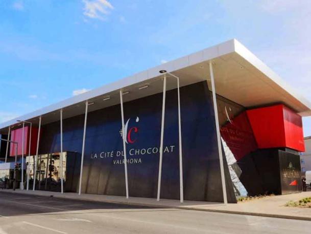 La Cité du Chocolat Valrhona située à Tain-L'Hermitage - DR