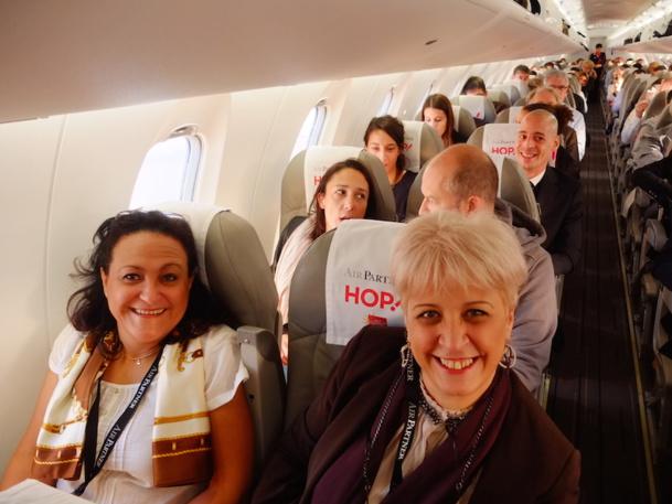 Air Partner a organisé le 21 octobre dernier un éductour à Perpignan. L'occasion pour les agences de découvrir les prestations offertes par le courtier. DR