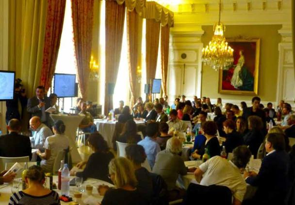 150 professionels du tourisme de la région sont venus à la présentation du plan d'actions 2015 du CRT au Palais du Pharo à Marseille - DR