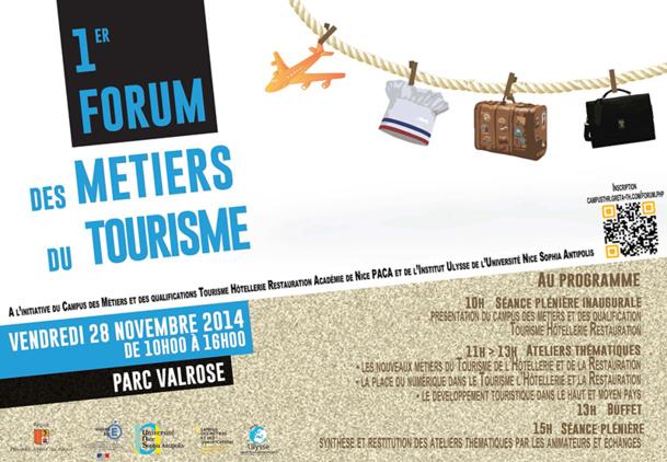 Nice organise le premier Forum des Métiers du Tourisme