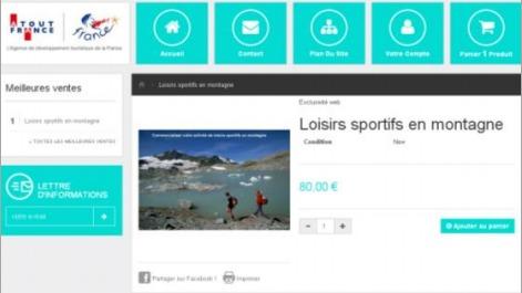 Le programme d'e-learning d'Atout France s'adresse aux professionnels des loisirs sportifs en montagne - Capture d'écran