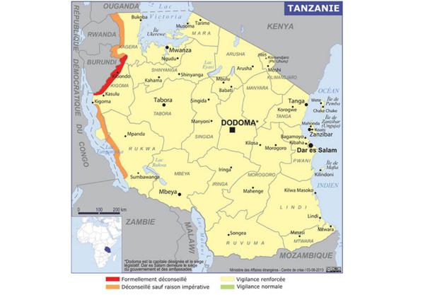 Reste maintenant à savoir si cette volte-face va enfin rassurer les touristes français et les convaincre d'aller passer quelques jours en Tunisie, au Maroc ou même en Egypte.   Sans parler de certains pays africains, telle la Tanzanie notamment, pays dans lequel, sans touristes, lions, girafes ou éléphants se morfondent de ne plus être photographiés… - DR : MAE