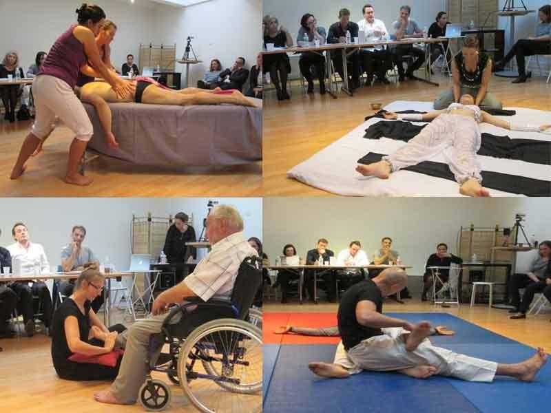 Les trois premiers prix ont été remportés par une danse orientale couchée (Alexandra Chatel), un ballet à 4 mains (Céline Vettese et Christel  Deotto) et un duo acrobatique (Jonathan Arnaud) - DR