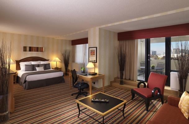 Le Crowne Plaza Atlanta Midtown sera le premier à disposer, dès 2015, de cette nouvelle chambre. Ici, une suite de l'hôtel - DR