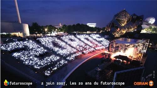 Le Futuroscope a fêté ses 20 ans