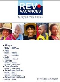 Rev'Vacances : 6 nouvelles destinations et une brochure annuelle