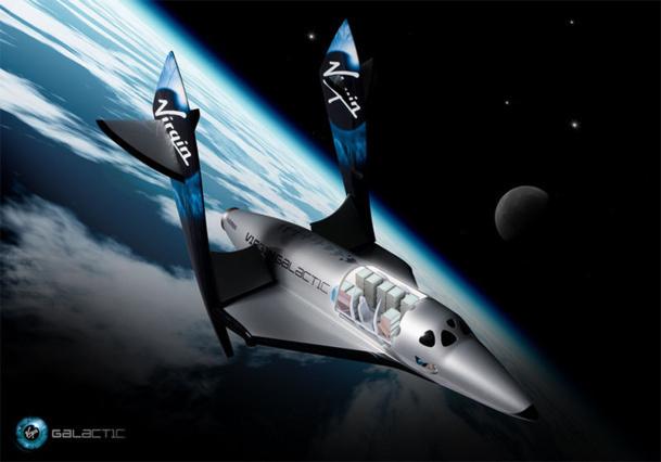 """""""Le vaisseau a souffert d'une grave anomalie qui s'est traduite par la perte de SpaceShipTwo, tandis que l'avion baptisé WhiteKnightTwo qui l'avait transporté, accroché sous ses ailes, a atterri en sécurité"""" -photo VG"""