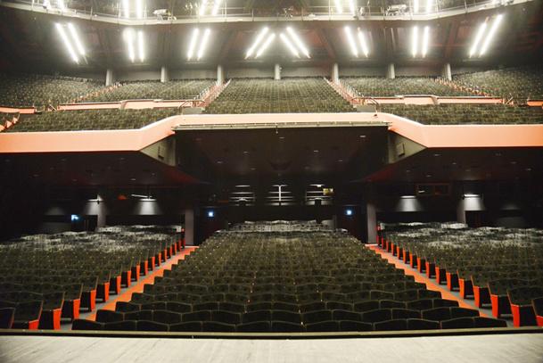 Le nouveau visage de l'auditorium du Palais des Festivals - DR