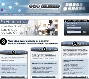 Europ Assistance France lance le coffre-fort virtuel 123Classez.com