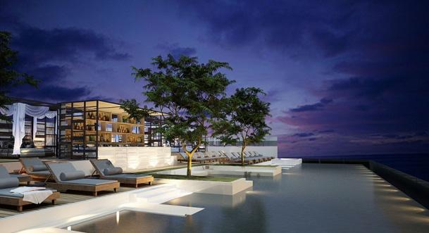 Le Best Western Patong Beach dispose d'une piscine à débordement - Photo DR