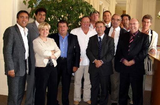 Les administrateurs du Conseil Exécutif (cliquer pour agrandir)