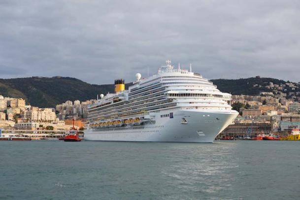 Le Costa Diadema est le plus gros navire de la flotte du croisiériste. DR