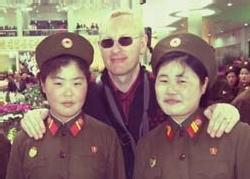 Guillaume de Vaudrey, le directeur de Cosmopolis, à Pyongyang (Corée du Nord)