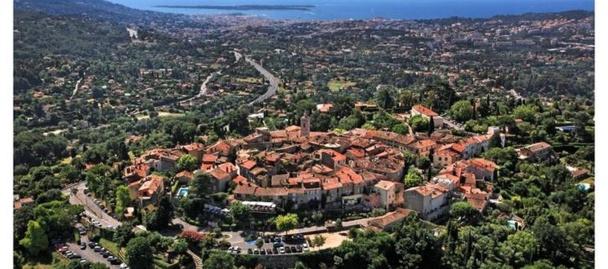 La Ville de Mougins - Photo DR La Route Napoléon