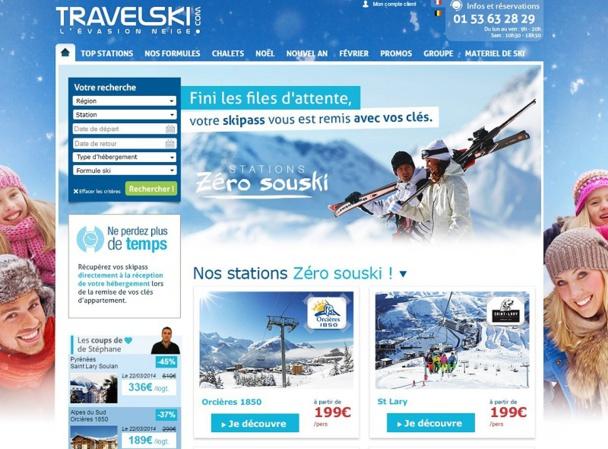 Travelski lance cette saison sur plus de 12 stations un concept qui vise à simplifier l'organisation des séjours à la montagne : « Zéro Souski ».