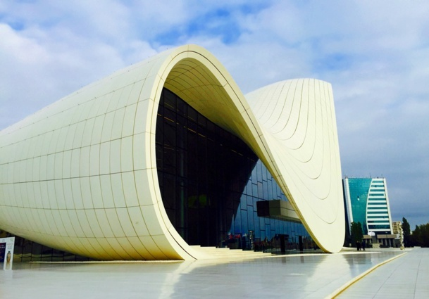 A fish, a wave, or a boat? That is up to the observer's interpretation of this Zaha Hadid masterpiece… /photo JDL.
