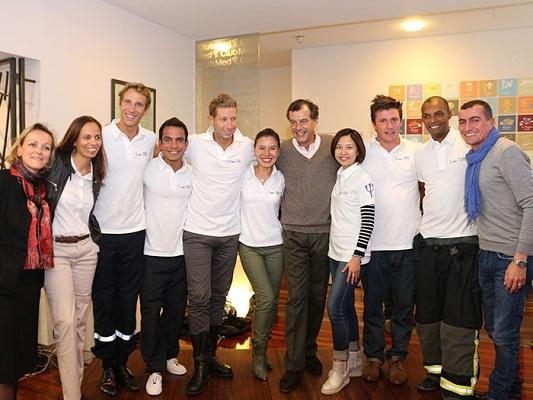 La nouvelle promotion des chefs de villages Club Med réunis à l'occasion du Campus des Talents 2014 - Photo DR