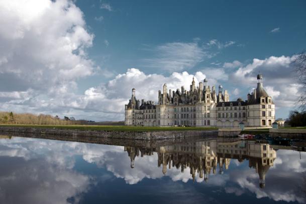Le château de Chambord a accueilli 751 640 de visiteurs en 2013 - Photo Ludovic Letot
