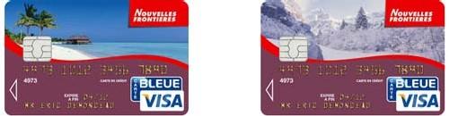 NF : l'épargne-vacances avec une carte bancaire co-brandée