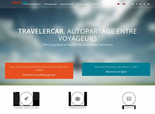 Le site TravelerCar - DR