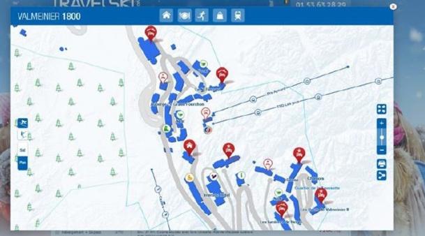 Exemple de cartographie d'une station