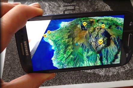 La nouvelle application mobile de l'Île de la Réunion Tourisme permet de visiter l'île à 360° - DR