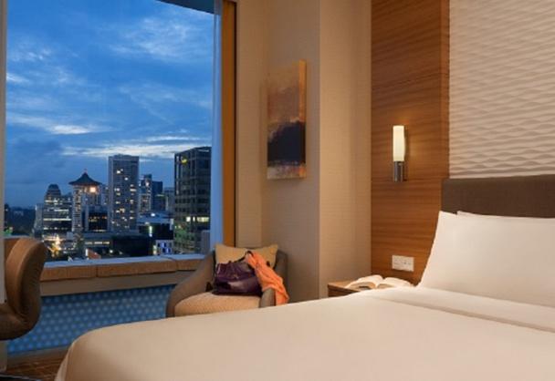 Le premier hôtel Jen ouvrait ses portes à Singapour le 15 septembre dernier - Photo DR