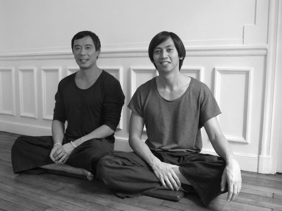 Yong Lyf (à gauche) et No Sourintha dans leur espace Jaidee.