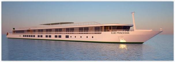 Le Elbe Princesse intégrera la flotte de CroisiEurope au printemps 2016 - Photo DR